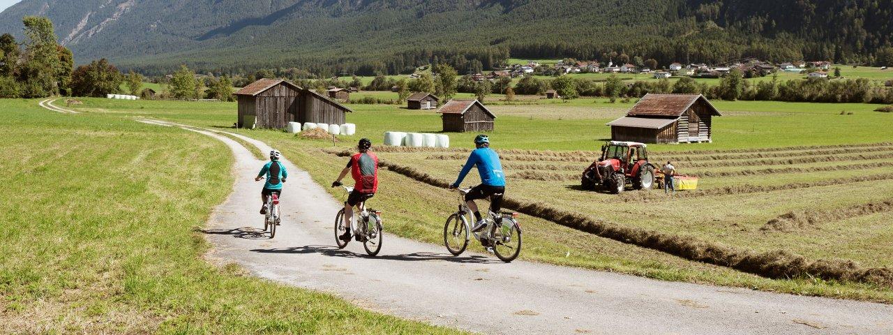Na kole v Tyrolsku, © Tirol Werbung/Frank Bauer