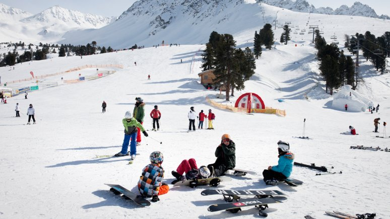 Na snowboardu v Tyrolsku, © Tirol Werbung/Verena Kathrein