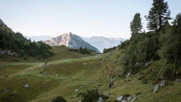 6. etapa Orlí stezky: Brandenbergské Alpy, © Tirol Werbung/Jens Schwarz