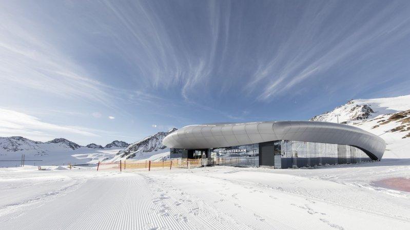Údolní stanice lanovky Wildspitzbahn, © Tirol Werbung/Gregor Sailer