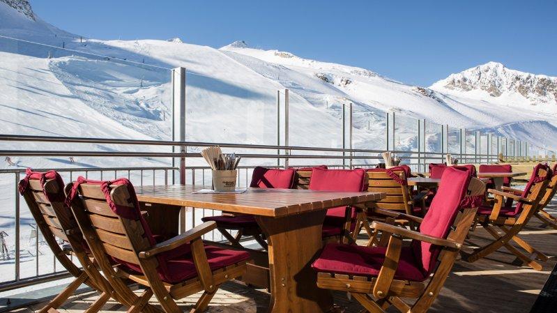 Restaurace s výhledem, © Hintertuxer Gletscher