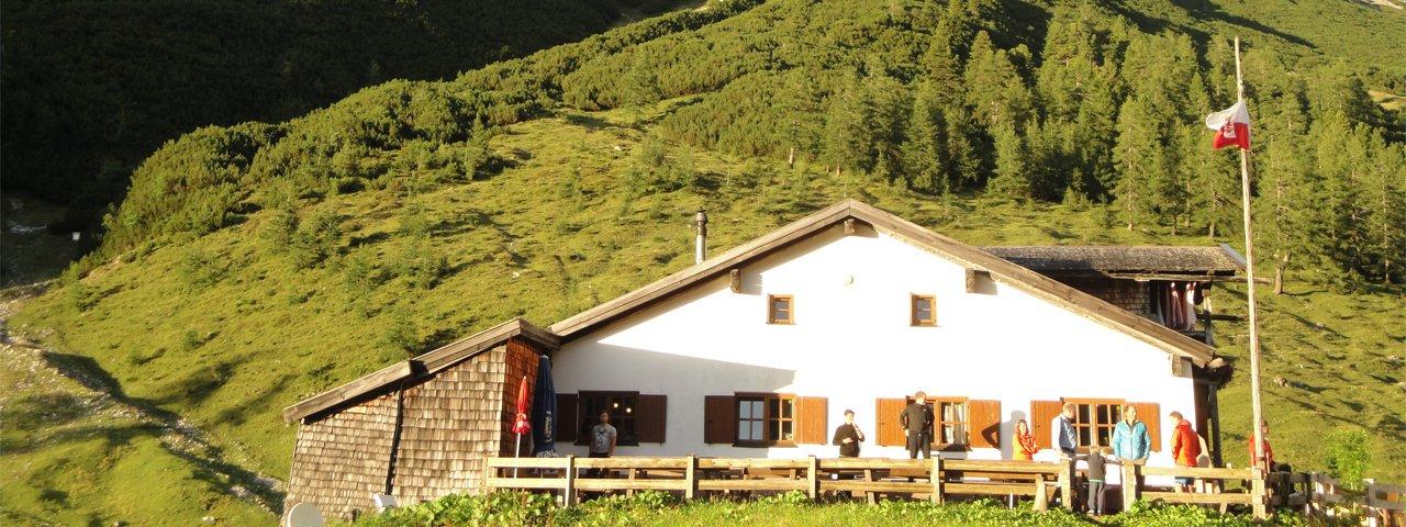 11. etapa Orlí stezky: Hallerangerhaus, © Tirol Werbung/Holger Gassler
