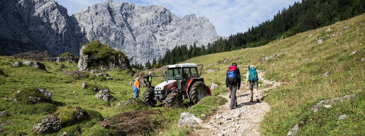 9. etapa Orlí stezky:  Lamsenjochhütte – Falkenhütte, © Tirol Werbung/Dominik Gigler