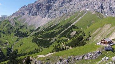 Rotmoosalm v údolí Gaistal, © Rotmoosalm