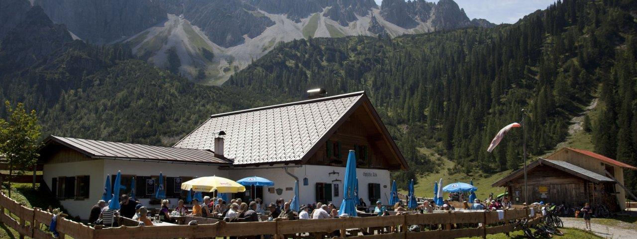 15. etapa Orlí stezky: Eppzirler Alm, © Tirol Werbung / Kranebitter Klaus