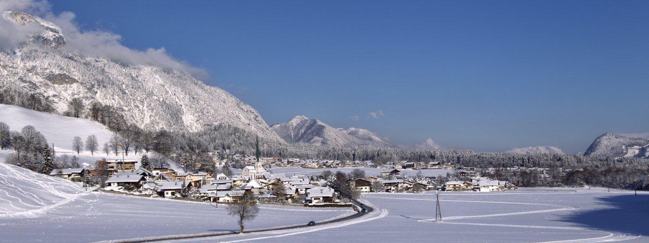 Wiesing im Winter, © Achensee Tourismus