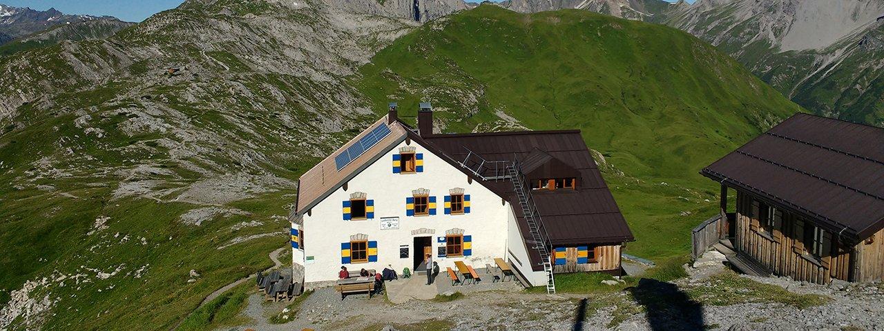 24. etapa Orlí stezky: Leutkircher Hütte, © Tirol Werbung/Michael Walzer