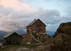 Chata Erlanger Hütte, © Tirol Werbung / Jens Schwarz