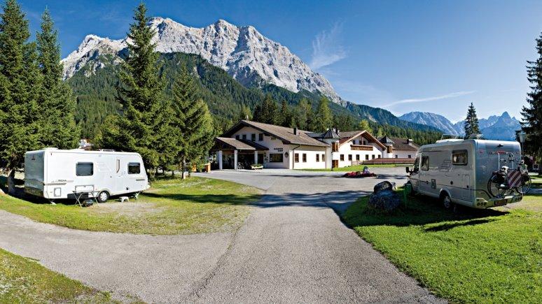 © Comfort Camping Tiroler Zugspitze