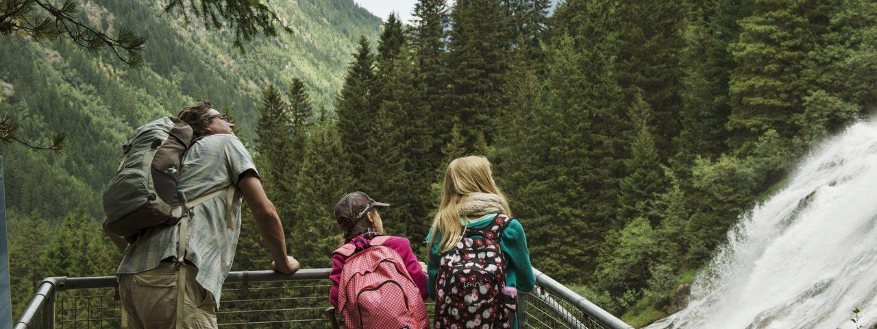 8 nejkrásnějších vodopádů v Tyrolsku, © Tirol Werbung/Frank Bauer
