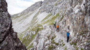 23. etapa Orlí stezky: Lechtalské Alpy, © Tirol Werbung/Dominik Gigler
